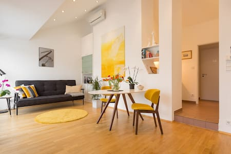 Rooftop-Apartment with cosy terrace - Wien - Apartment