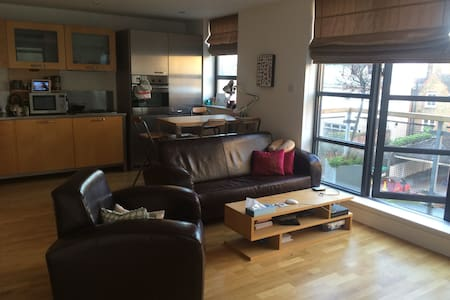Central Beautiful Quiet Light 1-Bed