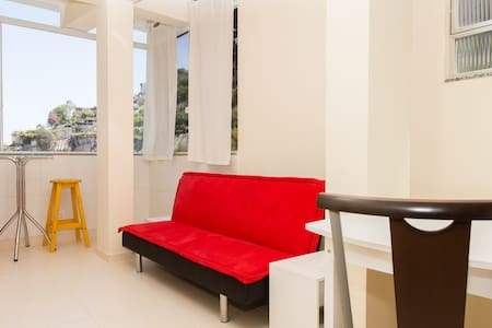 Small and Bright- View of Sugarloaf - Rio de Janeiro - Apartment