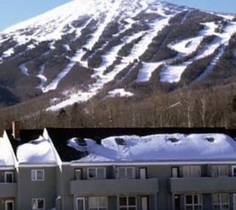 Sugarloaf Ski-in Ski-out condo - Carrabassett Valley - 公寓
