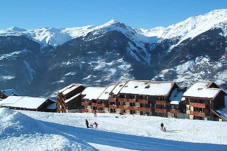**Apt on the slopes in Paradiski** - Appartamento