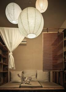 南京西路电影咖啡馆里的侘寂Wabi-sabi避世小屋 - Shanghai - House