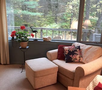Lovely apt in mountains of Maine - Bethel - Apartamento