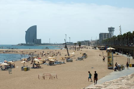 Barceloneta: the place to be ;)