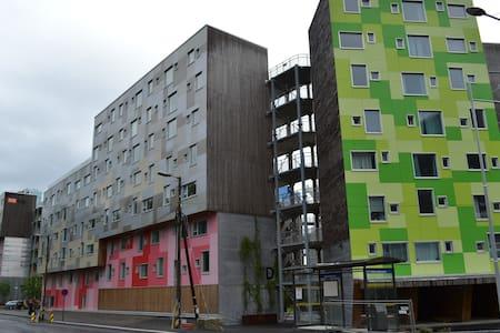 Grønneviksøren student flats-800m away-by Ulriken - Townhouse