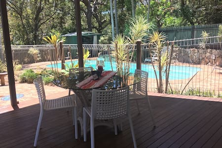 Four bedroom family Beach House with pool -pets ok - Point Arkwright