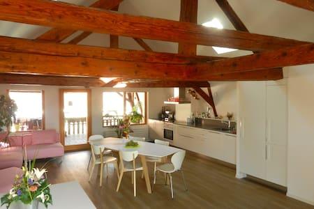 Herzlich willkommen als unser Gast! - Saint-Légier-La Chiésaz - Bed & Breakfast