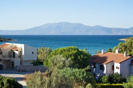 Peacefull Aegean Sea View Villa