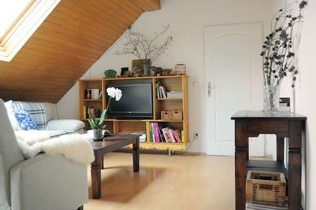 Beautiful attic room - Dom