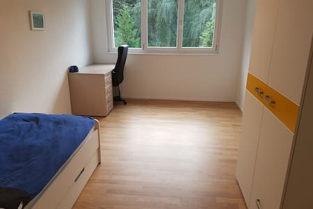 Zimmer mit eigenem Bad in Neubau nahe Bahnhof - Apartment