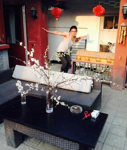Hutong courtyard in the city center