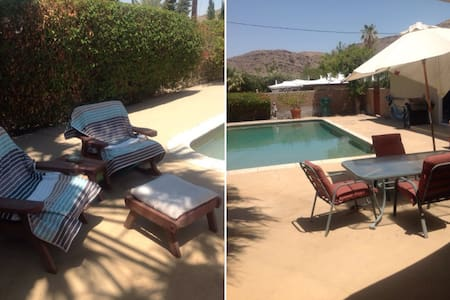 Spacious room w pvt bath/entry - Cathedral City - Casa