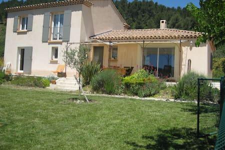 Villa piscine 8 km Aix en Provence - Meyreuil