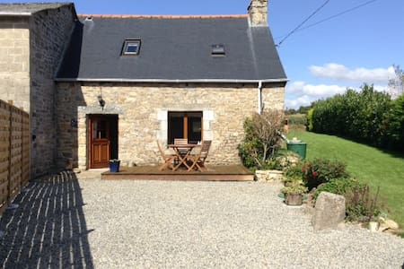 Kerauffret Cottage, Brittany France - Huis