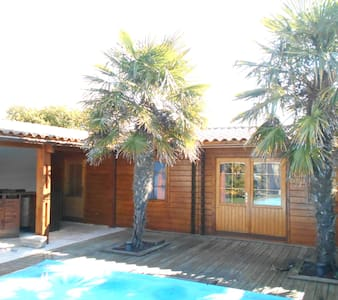 bungalow confortable proche spot de surf - Le Grand-Village-Plage - Chalet
