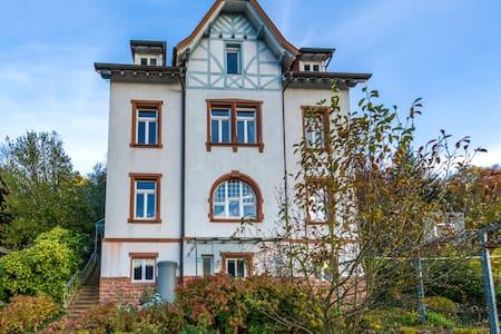 Doppelzimmer + eigenes Bad in alter Vorstadtvilla - Neckargemünd - Rumah