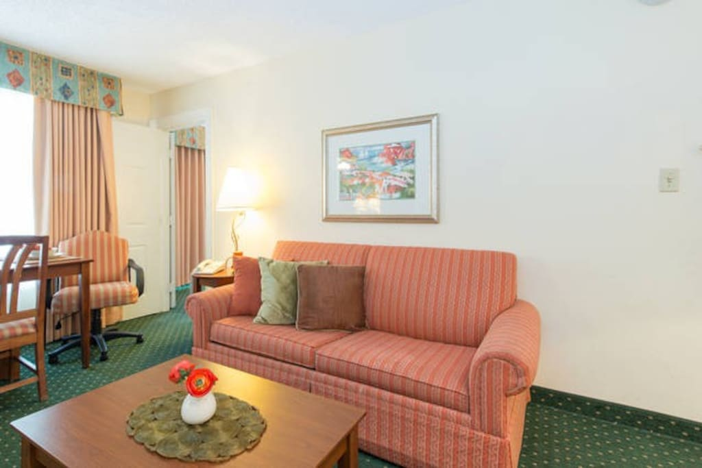1 Bedroom Resort Suite 4 Near Disney Sleeps 6 Apartments For Rent In Kissimmee