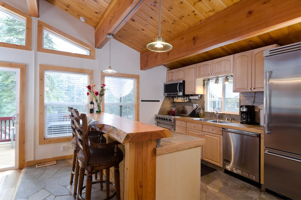 Beautiful kitchen equipped with Viking Appliances