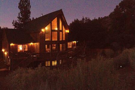 Gorgeous Pine Mountain log home  - Pine Mountain Club - Kisház