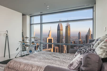 Luxury in front of Burj Khalifa - Dubai - Apartment