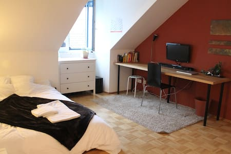 Amazing room in very stylish  flat - Munich - Apartment