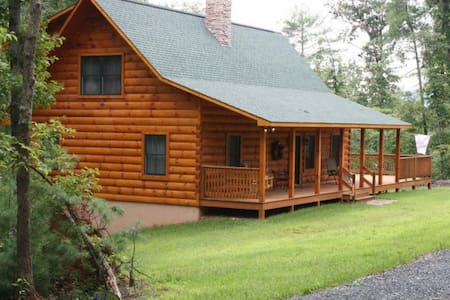 Authentic Log Home (Built 2012) - Cottage