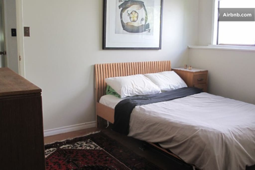 room with double bed @ $60 +airbnb fee