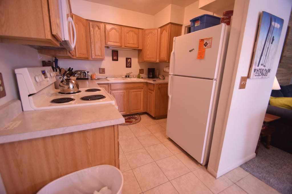 Well appointed kitchen. With everything you will need to cook a great meal.
