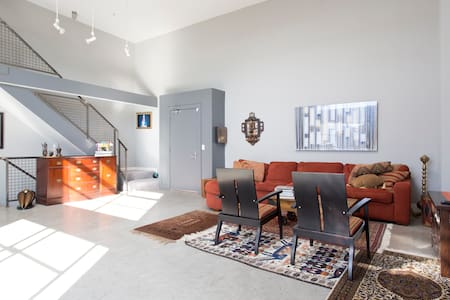 Spacious three story loft in SoMa! - San Francisco - Apartment