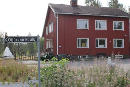 Old school building,Ii, Oijärvi - Ev
