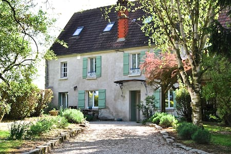 18th century cottage 1h from Paris - Zomerhuis/Cottage