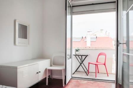 Lisbon centre. room for 2 - Lisboa - Pis