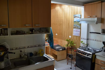 Hi! Welcome home! I offer you the comfy guest room so you can feel like home! Here you will find yourself in one of the most touristic hills of Valparaíso, but as if you were staying at your own place.  Hope to see you soon!