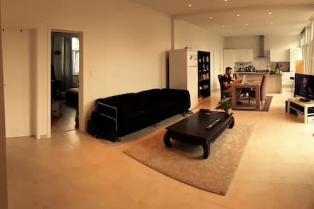 Modern apartment room in city centre +Rooftop view - Antwerpen - Apartment
