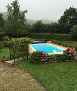 Lisier de la forêt de Bercé piscine - Jupilles - House
