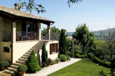 Country home near Urbino and Fano - Fossombrone - Apartment