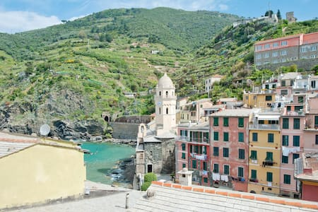 Breathtaking  sea view apartment  - Vernazza