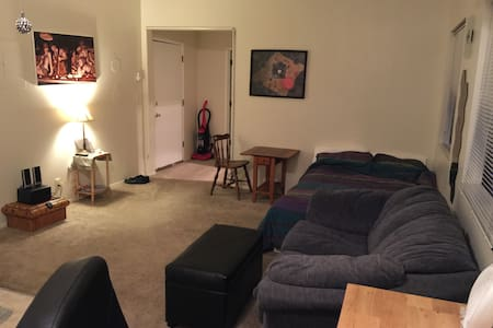 Living Room Apt. Downtown Portland