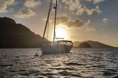 Sailing Boat Cabin - Caribbean - Båd