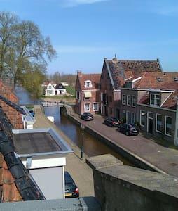 Luxe studio in oude stadshart - Franeker - Stadswoning