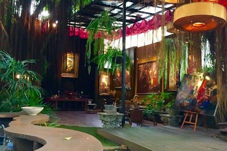 Mystery Art Garden,Near Airport,BKK - House