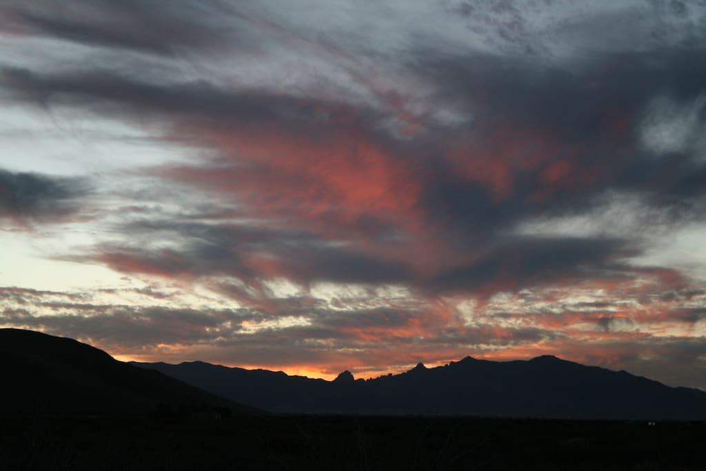 Views from Hummingbird Ranch.