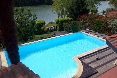 Ma maison au bord du lac - Nailloux