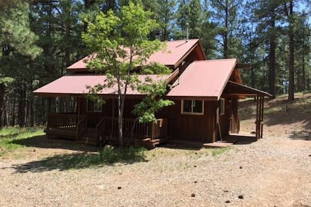 Two Story Cabin in the Woods. - Bayfield - Casa