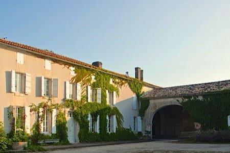 Maison de Maître proche Cognac - Nonaville - Huis