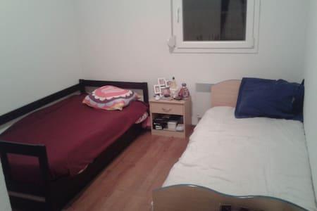 Chambre chez l'habitant. - Appartement