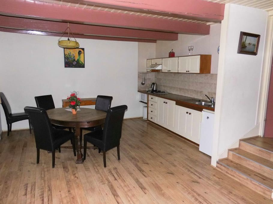 5 pers apartment,friesland