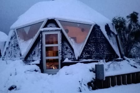 Christmas and New Year in a Dome in Dyssekilde. - Hundested - Rumah
