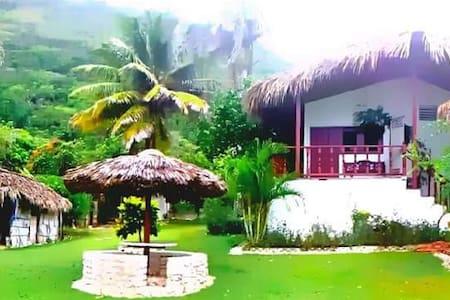 Caribbean House, Suitte exclusiva frente al Caribe - Los Patos - Lomamökki