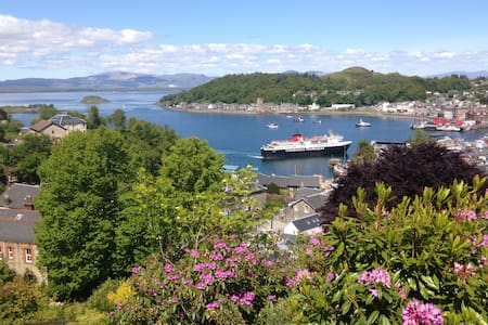 Double room in Oban, stunning views - Oban - Vila